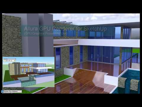 Allura SketchUp Extension - Rendering Modes