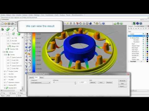 Scan&Solve with RhinoParametrics