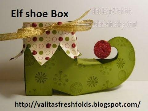 Package pattern: Elf shoe box