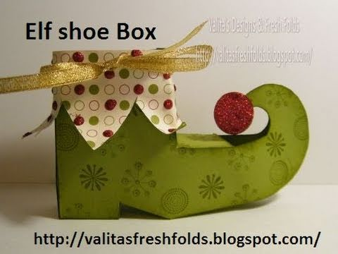 Package pattern: Elf shoe box