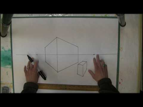 2 Point Perspective Drawing-Start Here