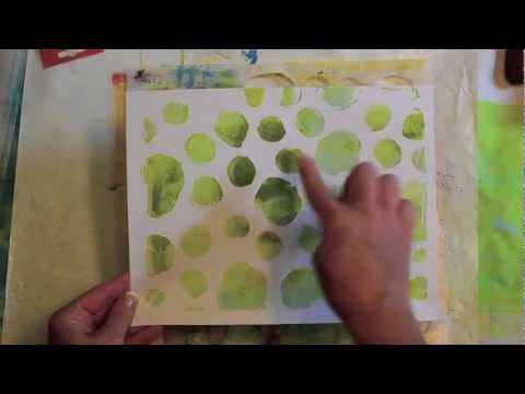 Gelli Arts Monoprinting Plate Tutorial