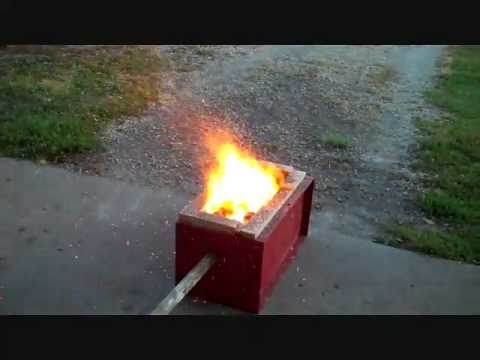 homemade forge