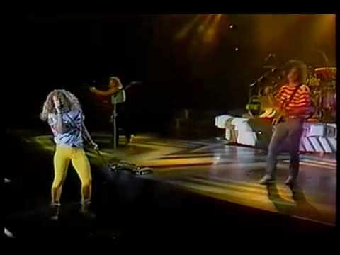 Van Halen LIVE 1989 Tokyo Concert part 6 /14 - Mine All Mine / Drum Solo - HIGH QUALITY - GFS