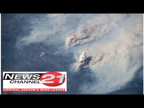 California fires: International Space Station snaps devastating wildfires