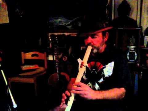 True Spirit Flutes by Mark Maysey -  Poplar Wood in Gm