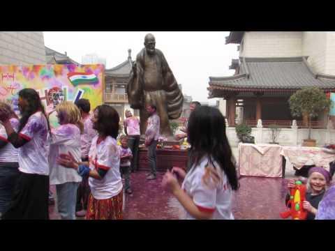 Holi Festival at Redfort-Xian