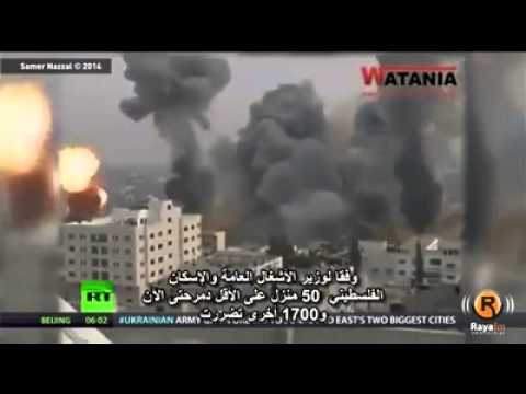 News Reporter exposes Israel on live television. WAR against Gaza. الحرب على غزة