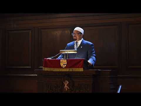 Harvard's Muslim chaplain speaks at Morning Prayers, Harvard Memorial Church