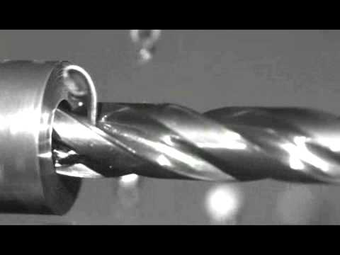 [DRILL] OSG Mega Muscle Drill: Chip Evacuation in Slow Motion - 8.0x5D - 1045 Carbon Steel