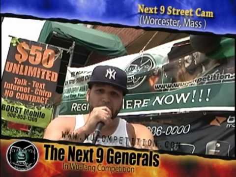 The Next 9 Generals In Wu-Tang Competition Street Cam (Worcester, Mass)