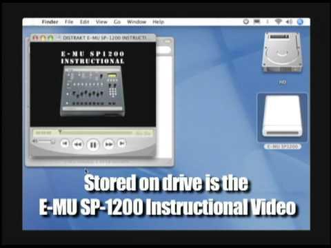 DISTRAKT & ALKOTA E-MU SP-1200 Flash MEMORY DRIVE