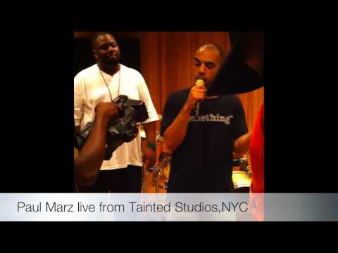 Paul Marz 72 bars live from Tainted Studios