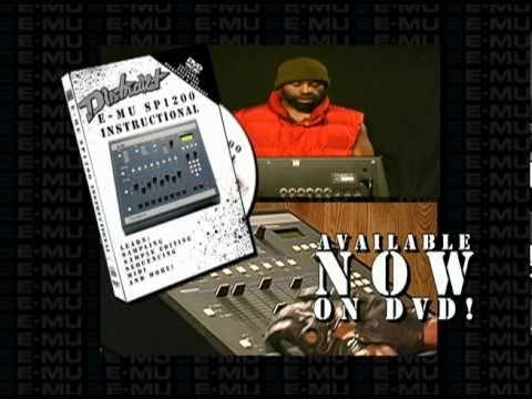 DISTRAKT E-MU SP1200 INSTRUCTIONAL DVD
