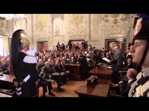 Highlights Cerimonia d'Insediamento Presidente Consiglio di Stato Giancarlo Coraggio.mov