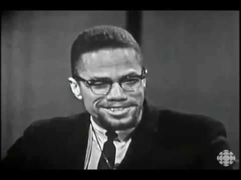 Malcolm X in conversation with the CBC (1965)