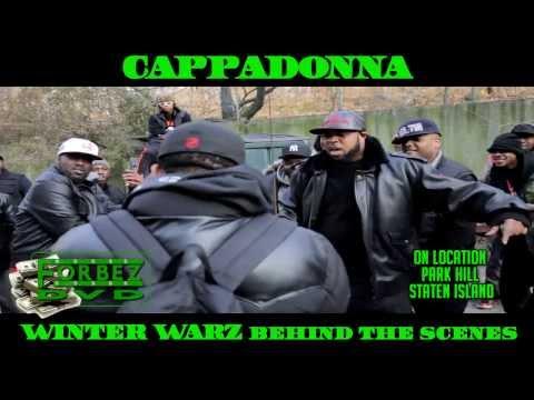 Cappadonna Behind The Scenes At Winter Warz Video Shoot (Classic Verse)