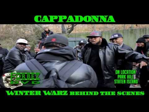 Cappadonna Behind The Scenes At Winter Warz Video Shoot (Classic Verse)