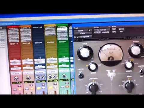 Mixing Hip Hop Vocals in Pro Tools With Waves Plugins (V-COMP)