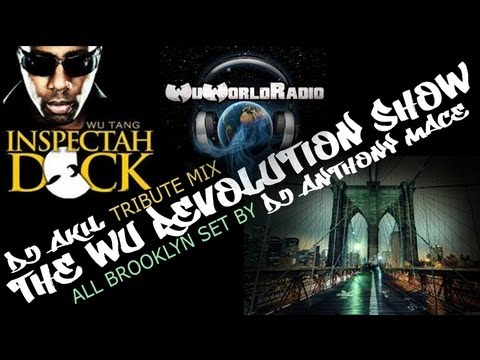 THE WU-REVOLUTION SHOW #1  BY DJ AKIL & DJ ANTHONY MACE @ WUTANGRADIO.COM