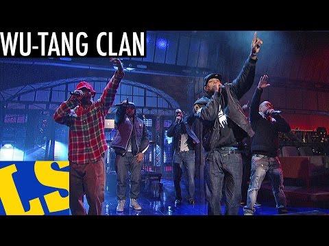"""Wu-Tang Clan: """"Ruckus in B Minor"""" - David Letterman"""