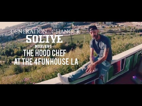 Wu-World Spotlights GENERATION CHANGER SOLIVE INTERVIEW HOOD CHEF Live @ THE 4FUN HOUSE LA