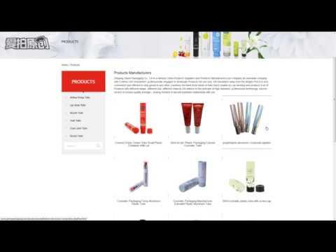 Aluminum cosmetic tube