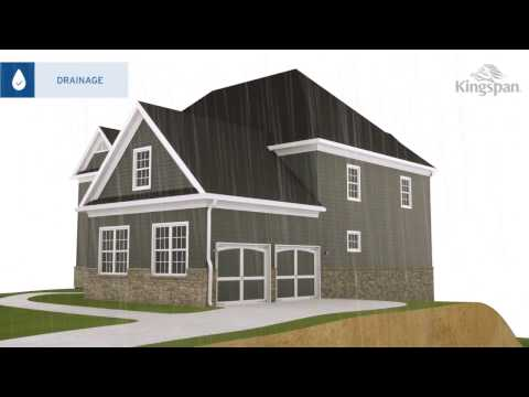 Kingspan GreenGuard® 3D Residential Drainage Video