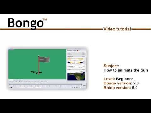 Bongo 2 - How to Animate the Sun