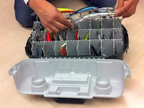 Caja de pesca porta señuelos
