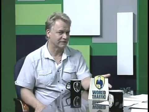 ANDREAS KALCKER, ENTREVISTA EN TV, MEXICALI B.C., MEXICO.