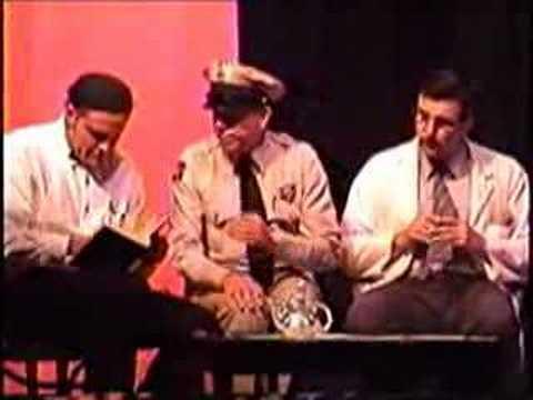 Count Istvan Teleky Exists with Barney Floyd & Goober