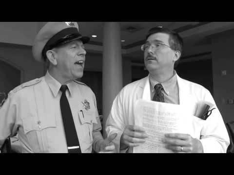 Barney and Floyd Discuss a Teachers Retirement After 35 Years of Service