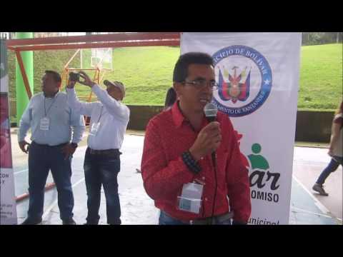 evento de cierre  en municipio de  Bolívar Santander