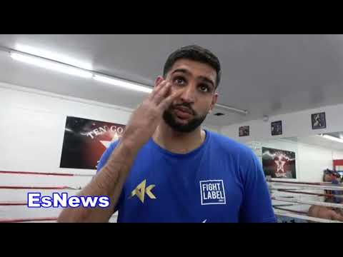 Amir Khan Reveals What Conor McGrgeor  Told Him About Mayweather Fight EsNews Boxing
