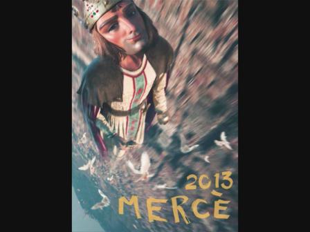 Merce 2013 - Projecció a la Casa Gran