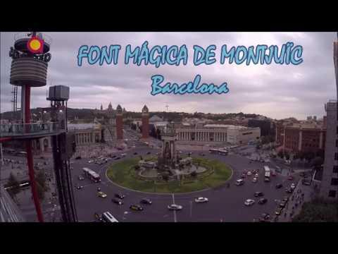 ESPECTÁCLE FONT MAGICA MONTJUÏC, BARCELONA