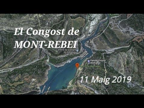 CONGOST DE MONT-REBEI en barca  - 11-05-2019