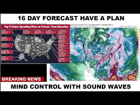 16 DAY FORECAST MIND CONTROL WITH SOUND WAVES #WEATHERWARFARE LIVE!! #ANALYSIS