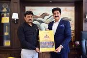 Poster of Namo Gange Trust Launched by Sandeep Marwah