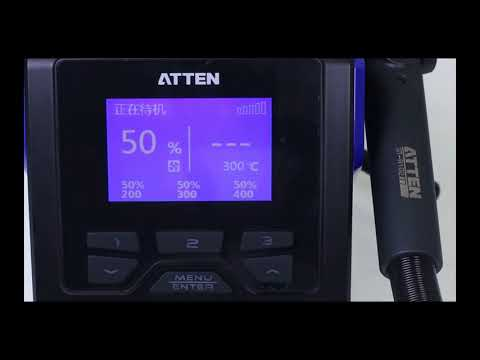 Atten GT-8102 High Power Hot Air Rework Station Review