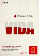 """SOLIDÁRIO: No mês do Natal """"Dê sangue à vida"""""""