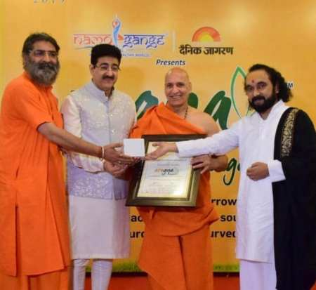 Sandeep Marwah Shared His Experience at Namo Gange Expo