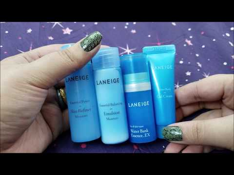 Laneige Moisture Trial Kit 라네즈 리뷰 | Korean Skin care