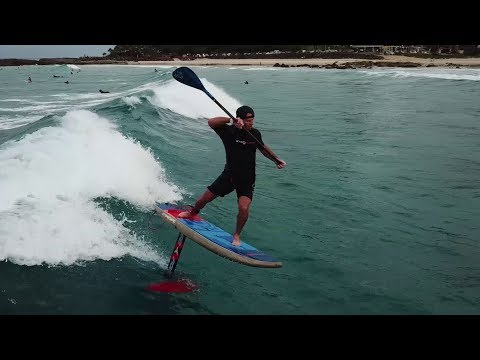 Jerry What's SUP Rainbow Bay (Starboard) Hydro-Foil