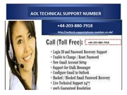 How to fix the most well-known issues of Aol Technical Support Phone Number?