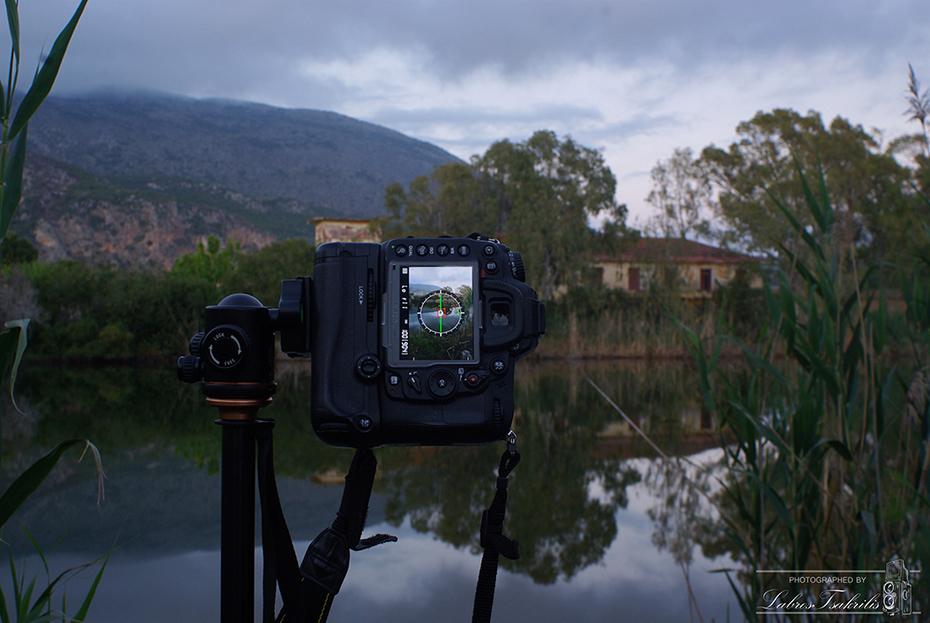 Φωτογραφίζοντας την λίμνη!