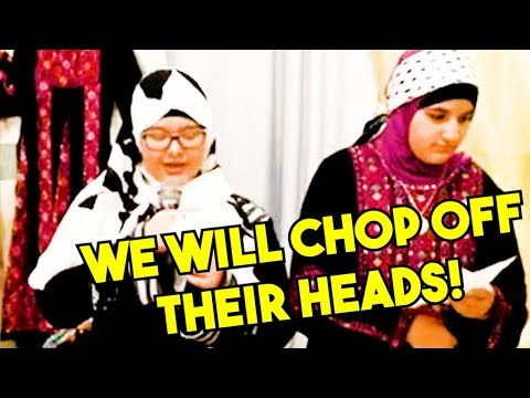 Muslim Children In U.S. Singing About Decapitation