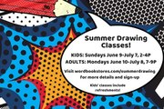 Kids' Summer Drawing Classes at WORD JC