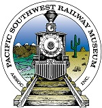 "100th ANNIVERSARY OF THE ""GOLD SPIKE"" CELEBRATION PRESENTED BY THE PACIFIC SOUTHWEST RAILWAY MUSEUM"